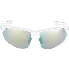 Alpina Nylos HR Brille white-pistachio/emerald mirror